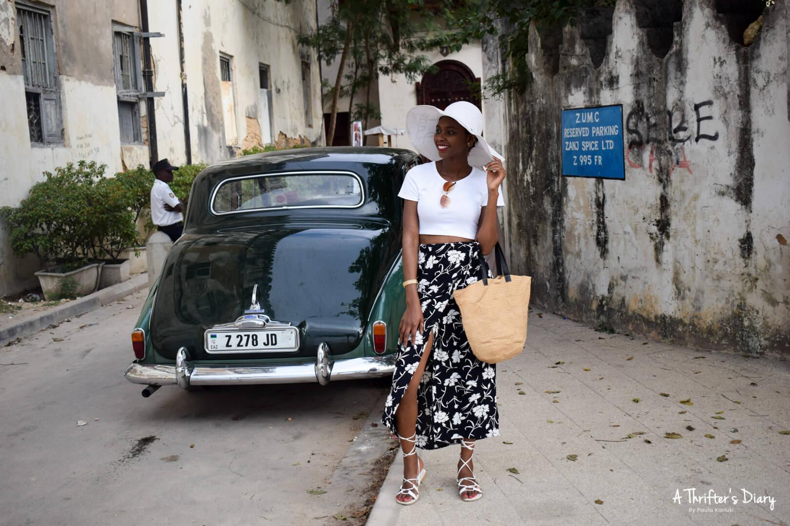 Zanzibar Vintage cars
